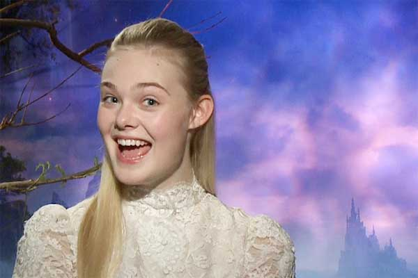 Maleficent S Elle Fanning Interview I Smile A Lot Too
