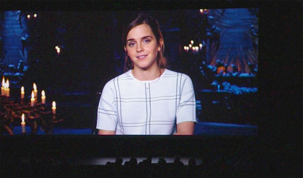 Emma Watson talks Beauty and the Beast
