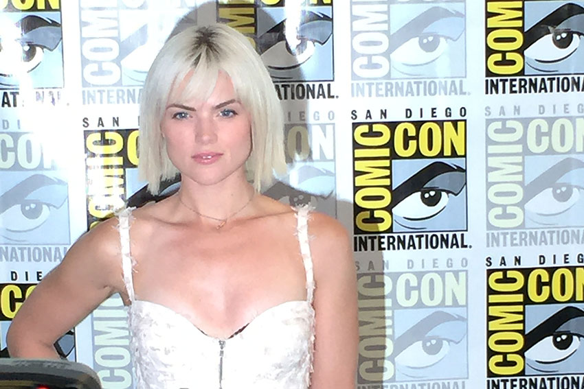 Erin Richards Comic Con Gotham