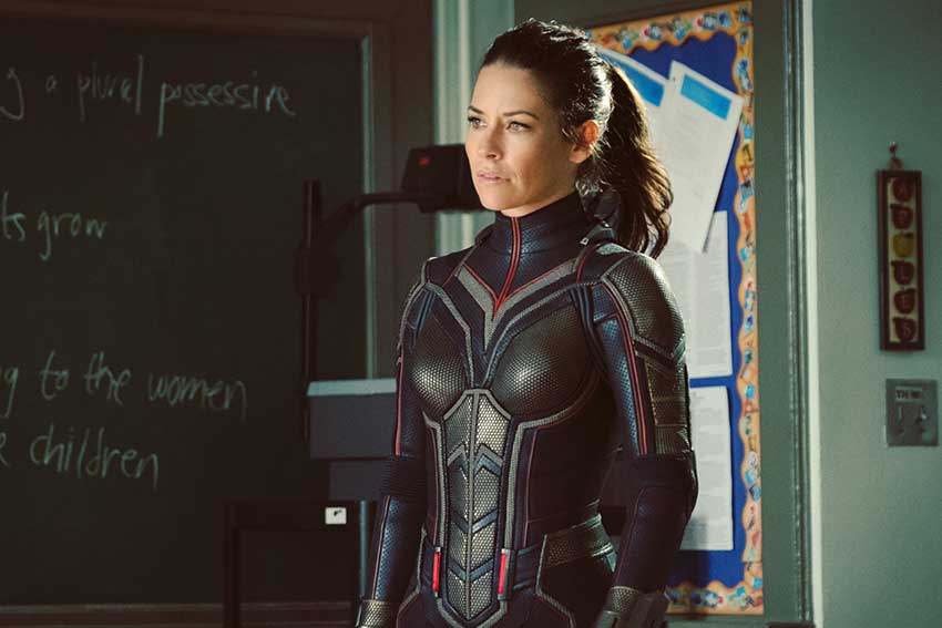 Evangeline Lily The Wasp AntMan