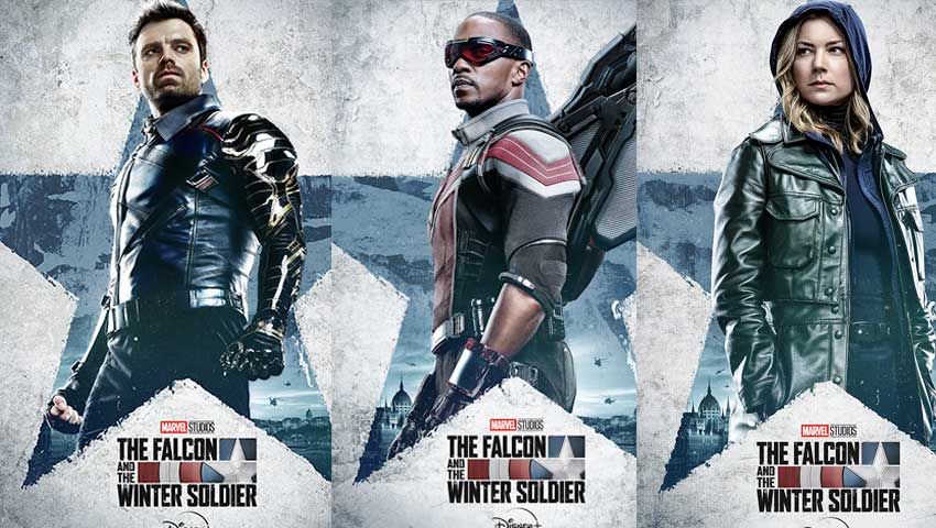 Falcoln and Winter Soldier character poster