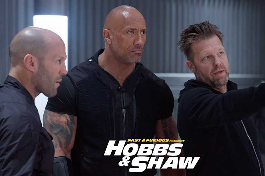 Fast and Furious Hobbs and Shaw behind the scenes