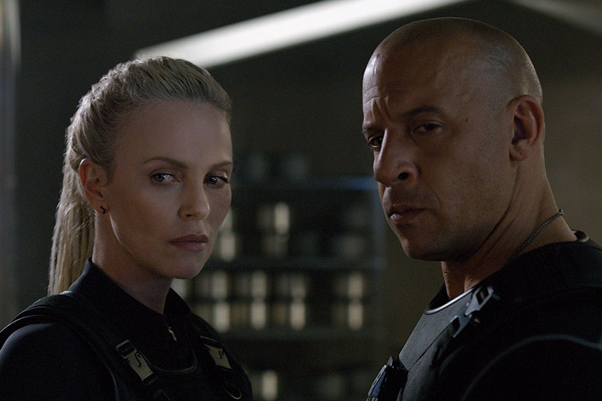 Fate of the Furious Vin Diesel Charlize Theron