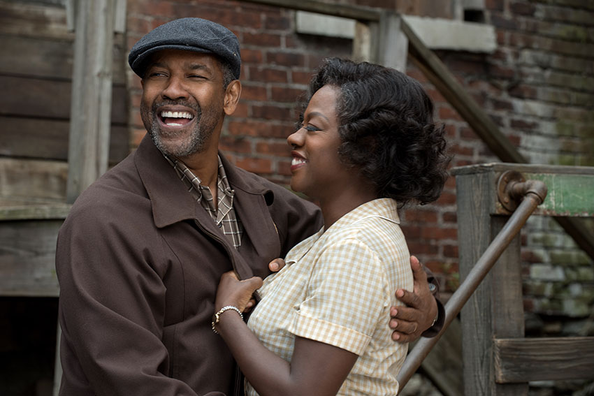 Fences movie Denzel Washington Viola Davis