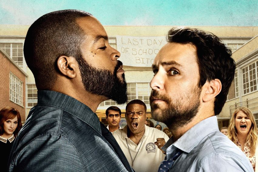 Fist Fight Movie Poster Ice Cube and Charlie Day