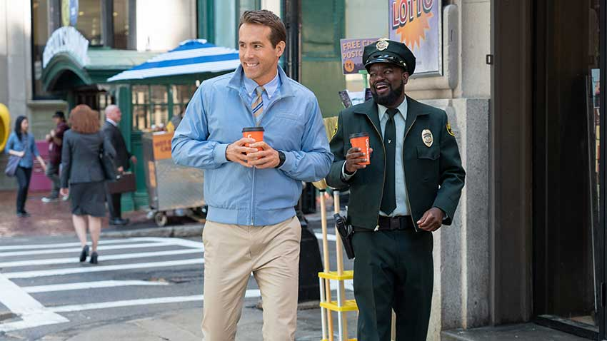 Free Guy Ryan Reynolds Lil Rel Howery