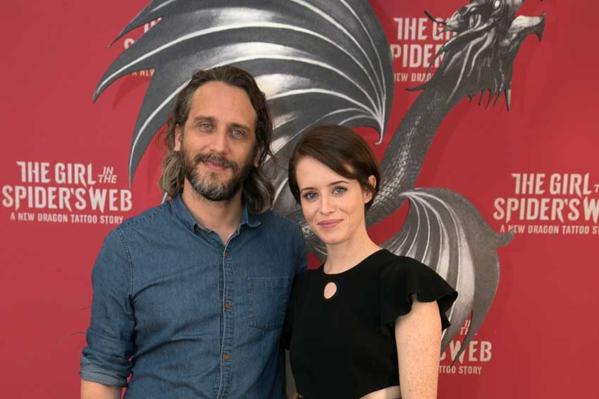 Girl in the Spiders Web Claire Foy Director Fede Alvarez