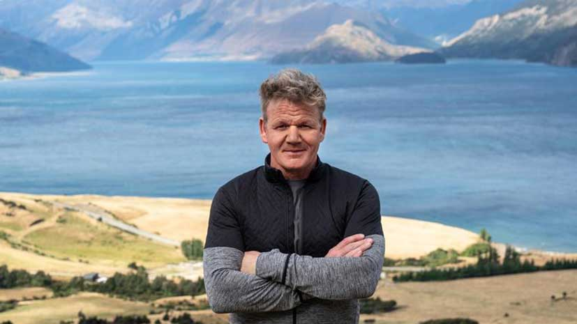 Gordon Ramsay Uncharted interview