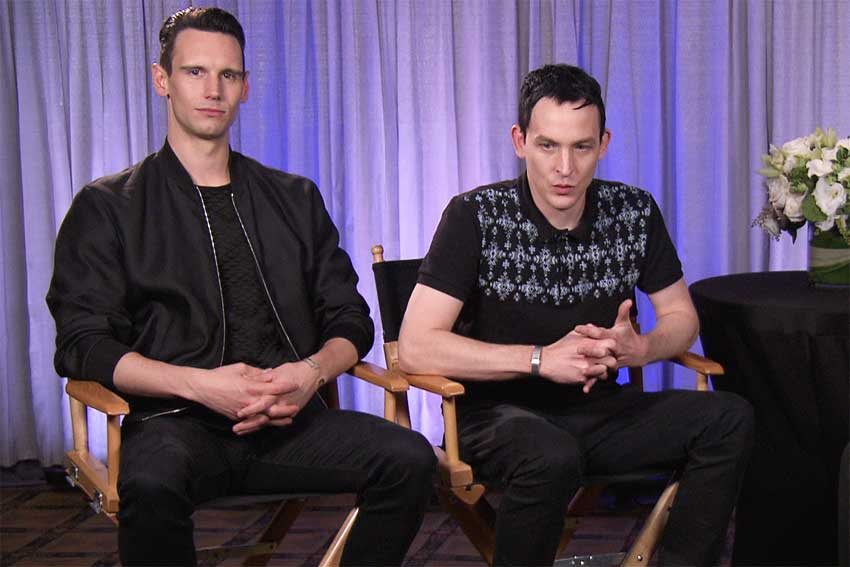 Gotham Cory Michael Smith and Robin Lord Taylor