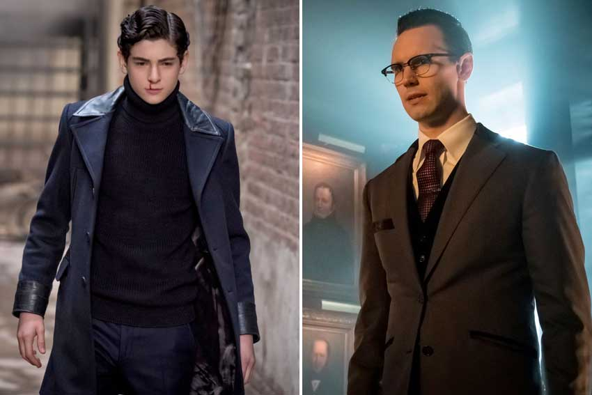 Gotham David Mazouz Corey Michael Smith Season 3
