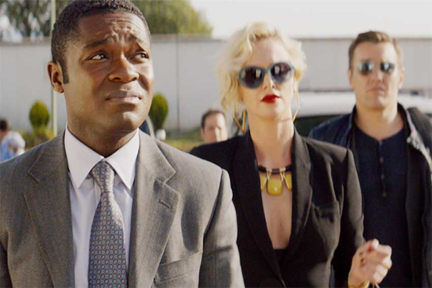 David Oyelowo, Charlize Theron and Joel Edgerton in GRINGO
