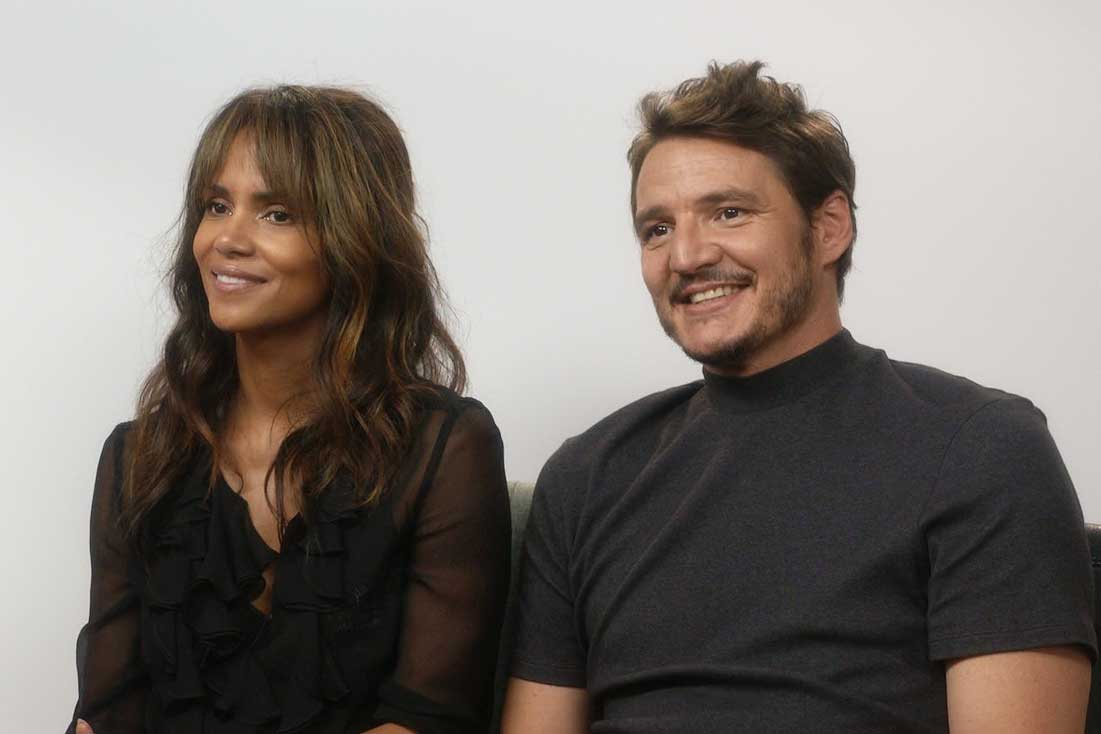Halle Berry Pedro Pascal Kingsman Golden Circle interview 850