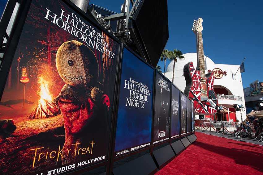Halloween Horror Nights 2018 red carpet