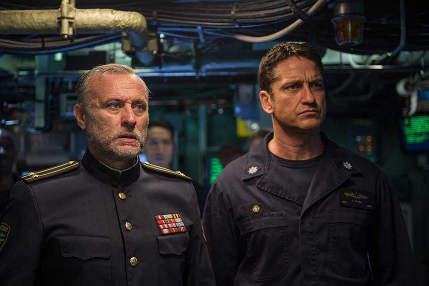 Hunter Killer Gerard Butler movie