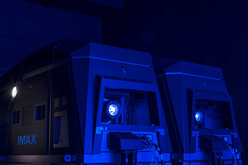 IMAXs Laser Projection System