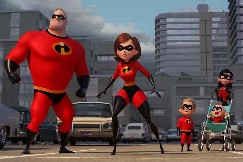 Incredibles 2 cast announcement