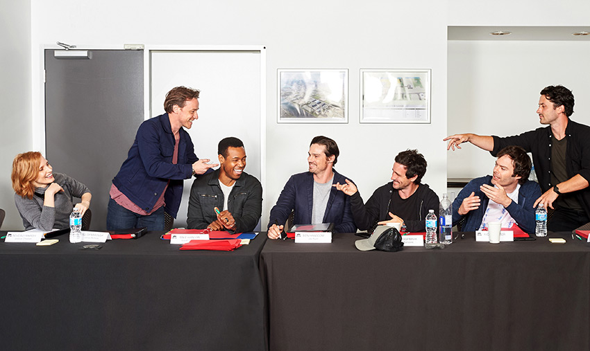 It Chapter Two table read