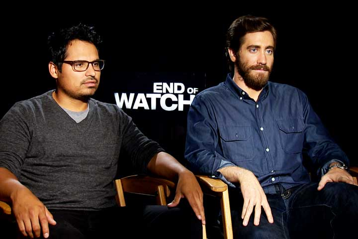 Jake-Gyllenhaal-Michael-Pena-end-of-watch-interview