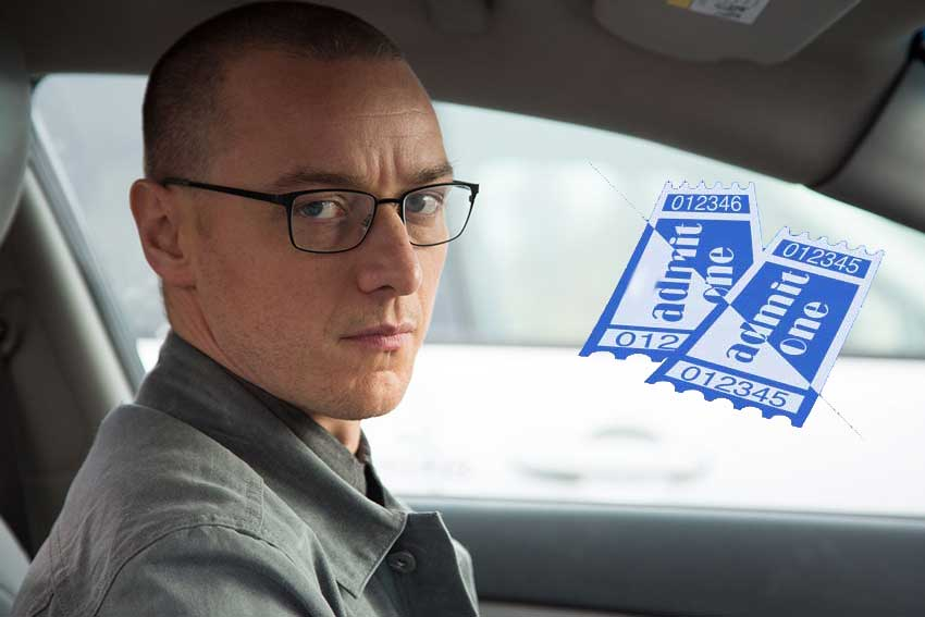 James McAvoy Split movie giveaway