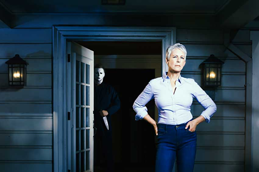 Jamie Lee Curtis Halloween movie sequel
