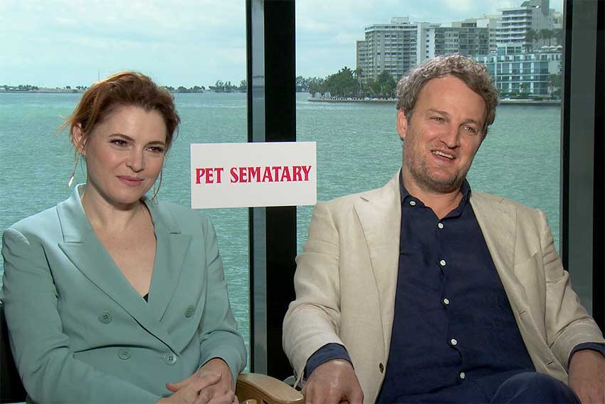 Jason Clarke Amy Seimetz Pet Sematary CineMovie Interview