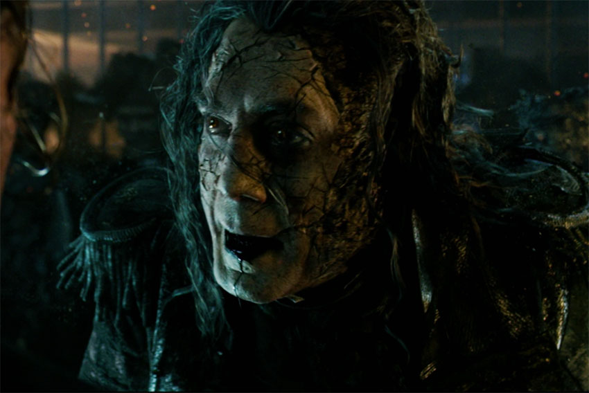 Javier Bardem Pirates of the Caribbean Dead Man Tell No Tales