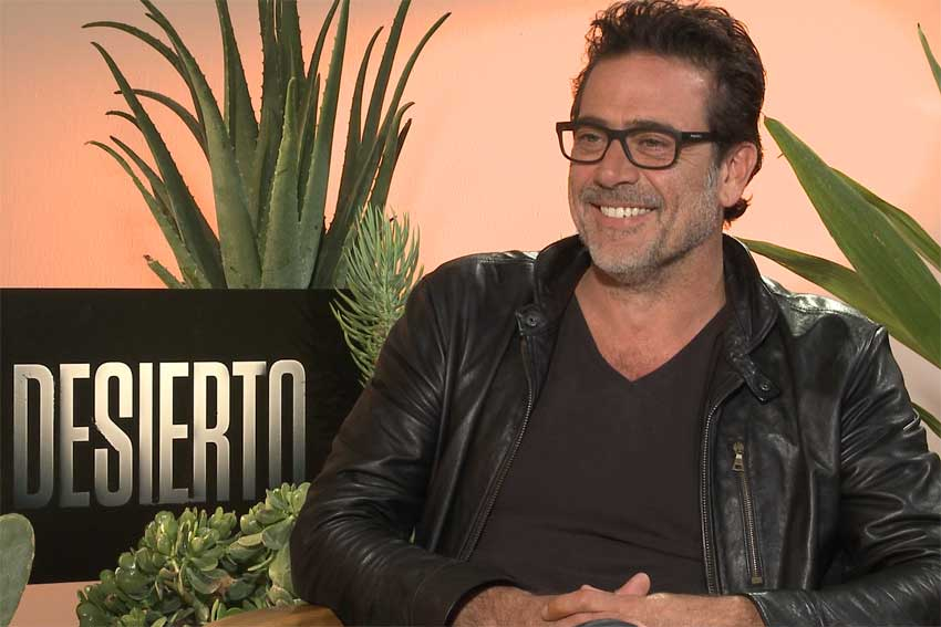 Jeffrey Dean Morgan interview WalkingDead Desierto