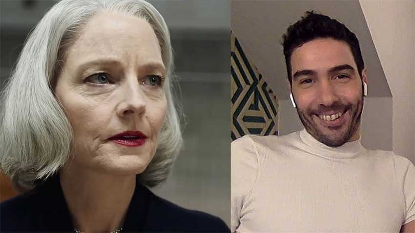 Jodie Foster Tahar Rahim TheMauritanian CineMovie interview