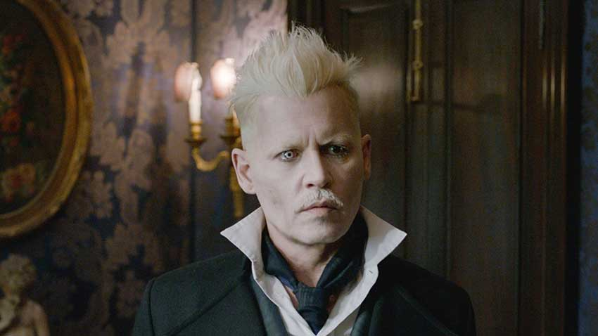 Johnny Depp Fantastic Beasts 3