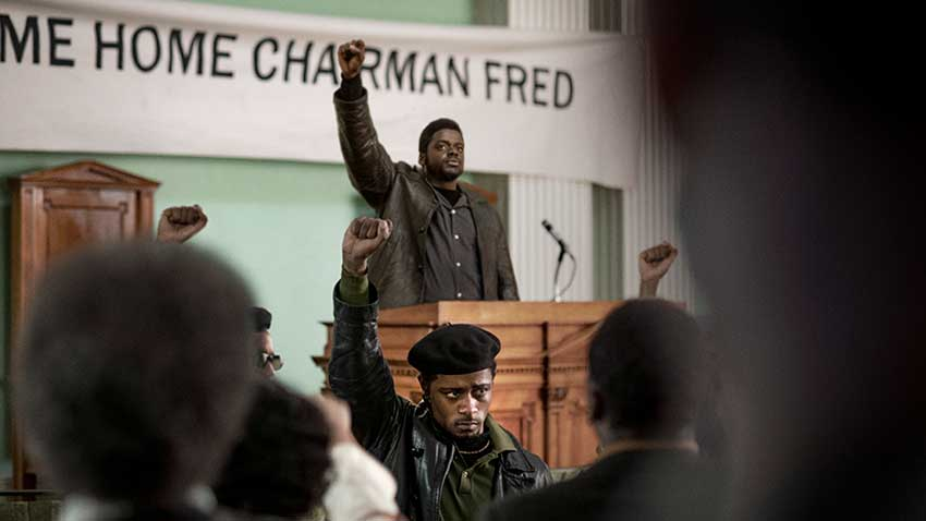 Daniel Kaluuya and LaKeith Stanfield in JUDAS AND THE BLACK MESSIAH