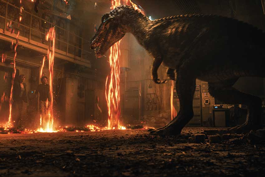 Jurassic World 2 dino featurette