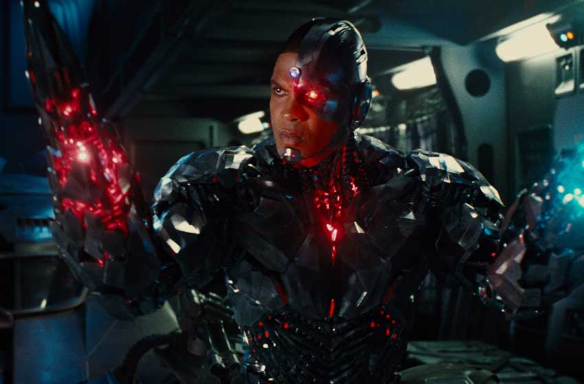 Justice League Cyborg Ray Fisher movie