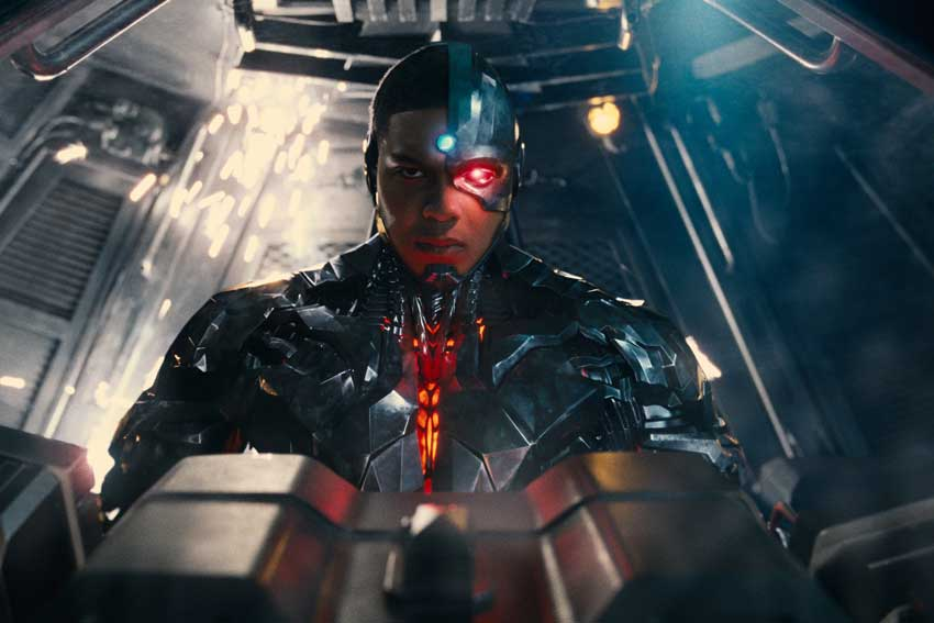 Justice League Cyborg Ray Fisher