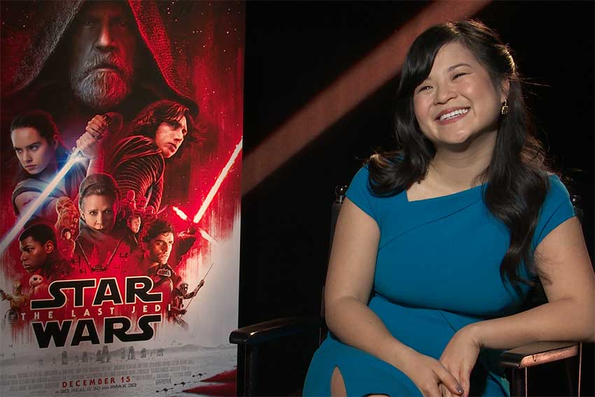 Kelly Marie Tran Star Wars The Last Jedi interview