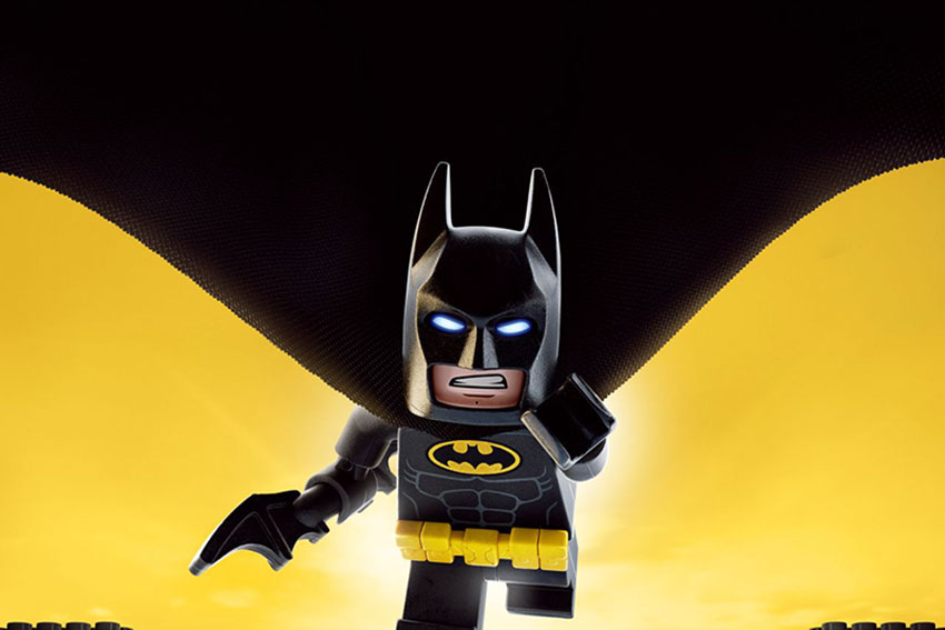 LEGO Batman movie poster image