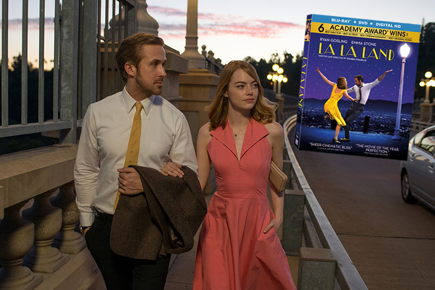 La La Land Blu ray bonus features