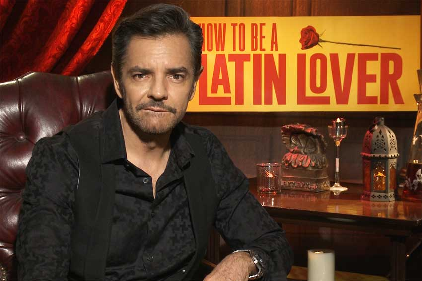 Latin Lover Eugenio Derbez interview