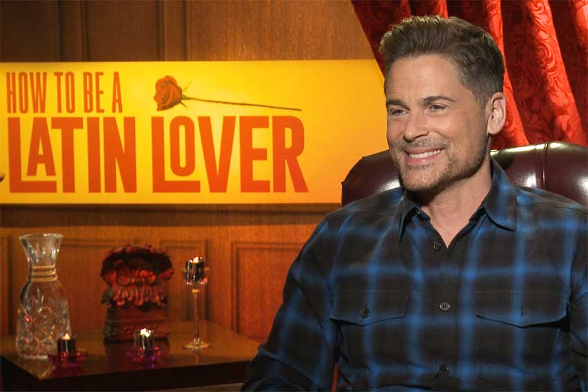 Latin Lover Robe Lowe CineMovie interview