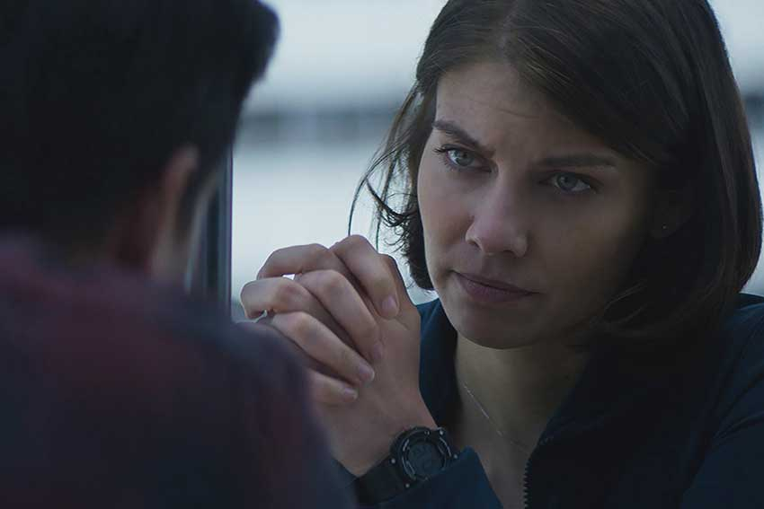 Lauren Cohan Mile 22 Movie