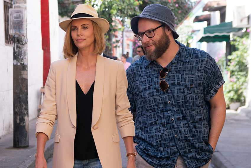 Long Shot movie Seth Rogen Charlize Theron