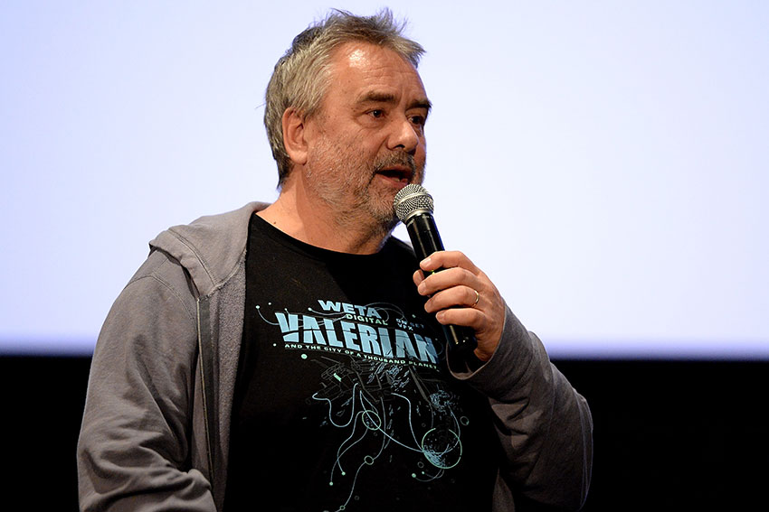 Luc Besson Valerian and the City of a Thousand Planets interview