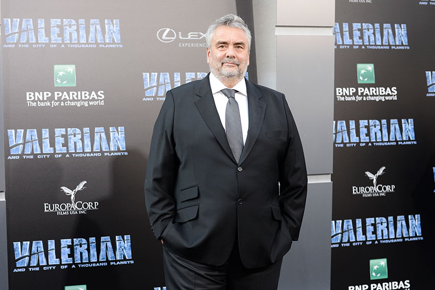 Luc Besson Valerian and the City of a Thousand Planets LA premiere