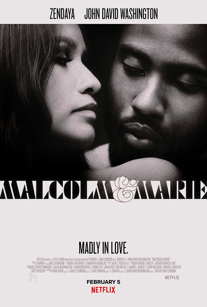 Malcolm and Marie Netflix movie