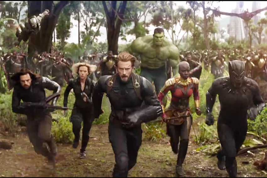 Marvel Avengers Infinity War Trailer