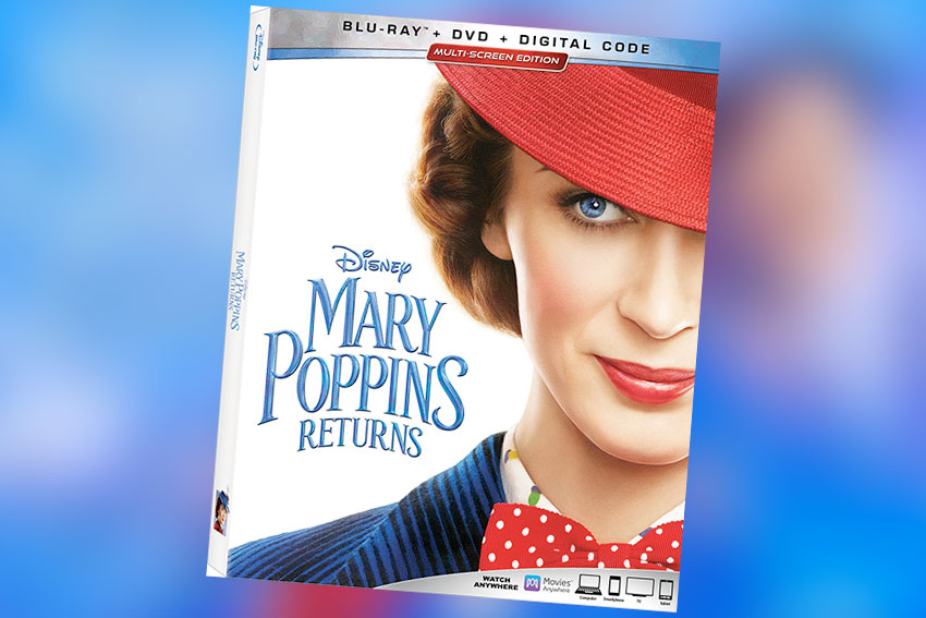 Mary Poppins Returns' Blu-ray and DVD Bonus Features | New on DVD