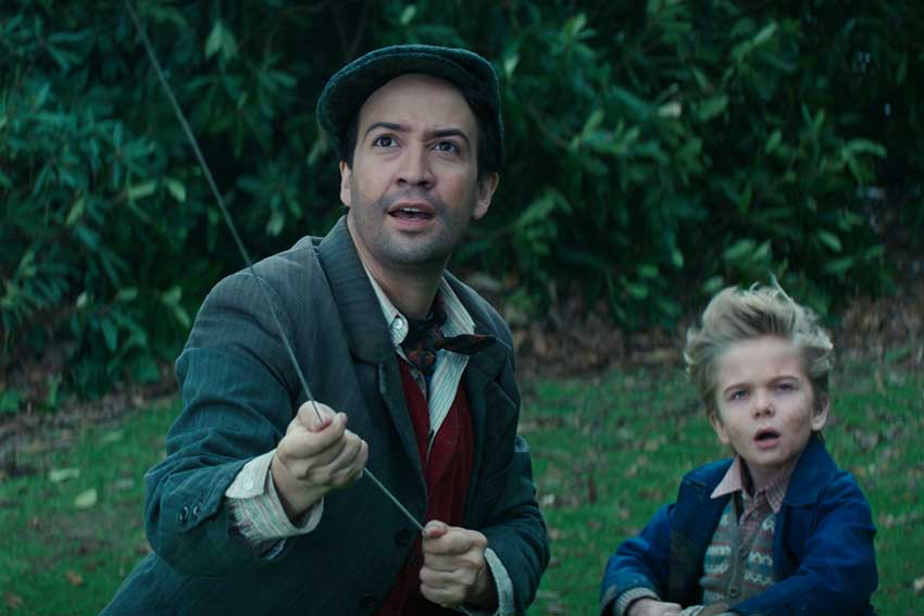 Mary Poppins Returns Lin Manuel Miranda