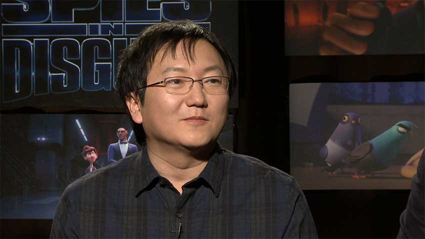 Masi Oka Spies in Disguise interview