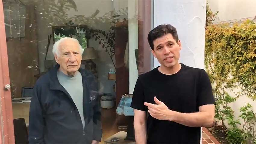 Max and Mel Brooks Viral PSA
