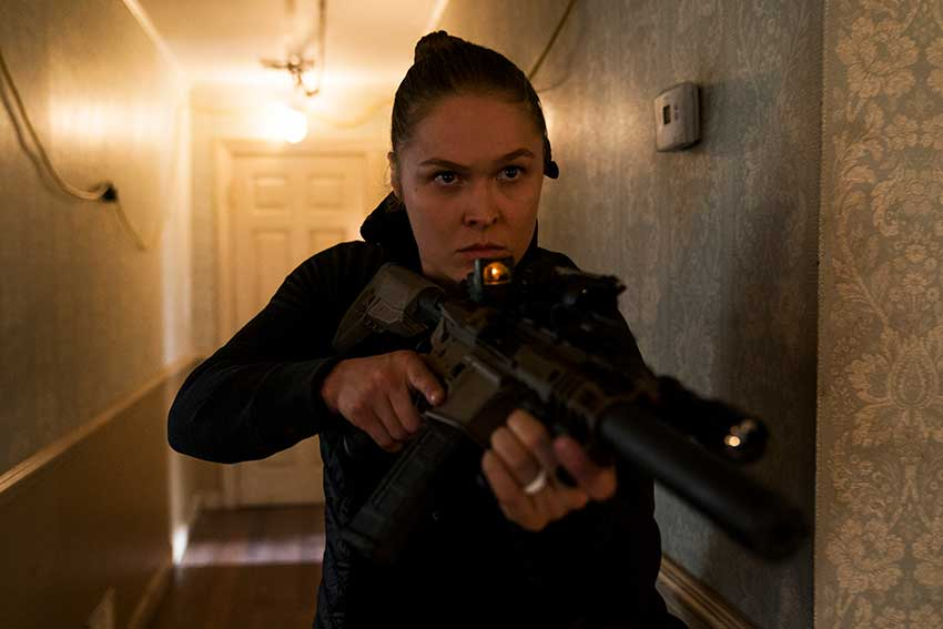 Mile 22 Ronda Rousey movie
