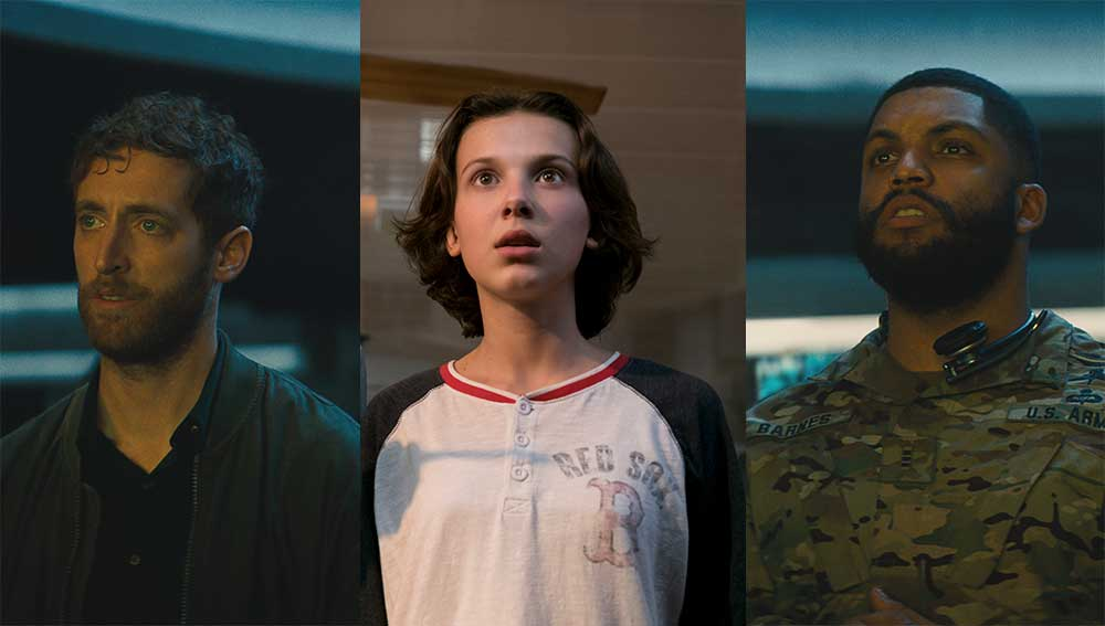 Millie Bobby Brown, O'Shea Jackson Jr, Thomas Middleditch in Godzilla: King of the Monsters